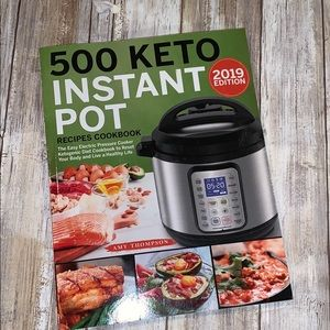 New! 500 keto instant pot recipes
